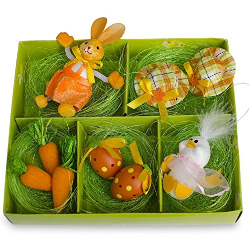 Set of 9 Easter Bunny, Hats, Eggs, Chick, Carrots DIY Easter