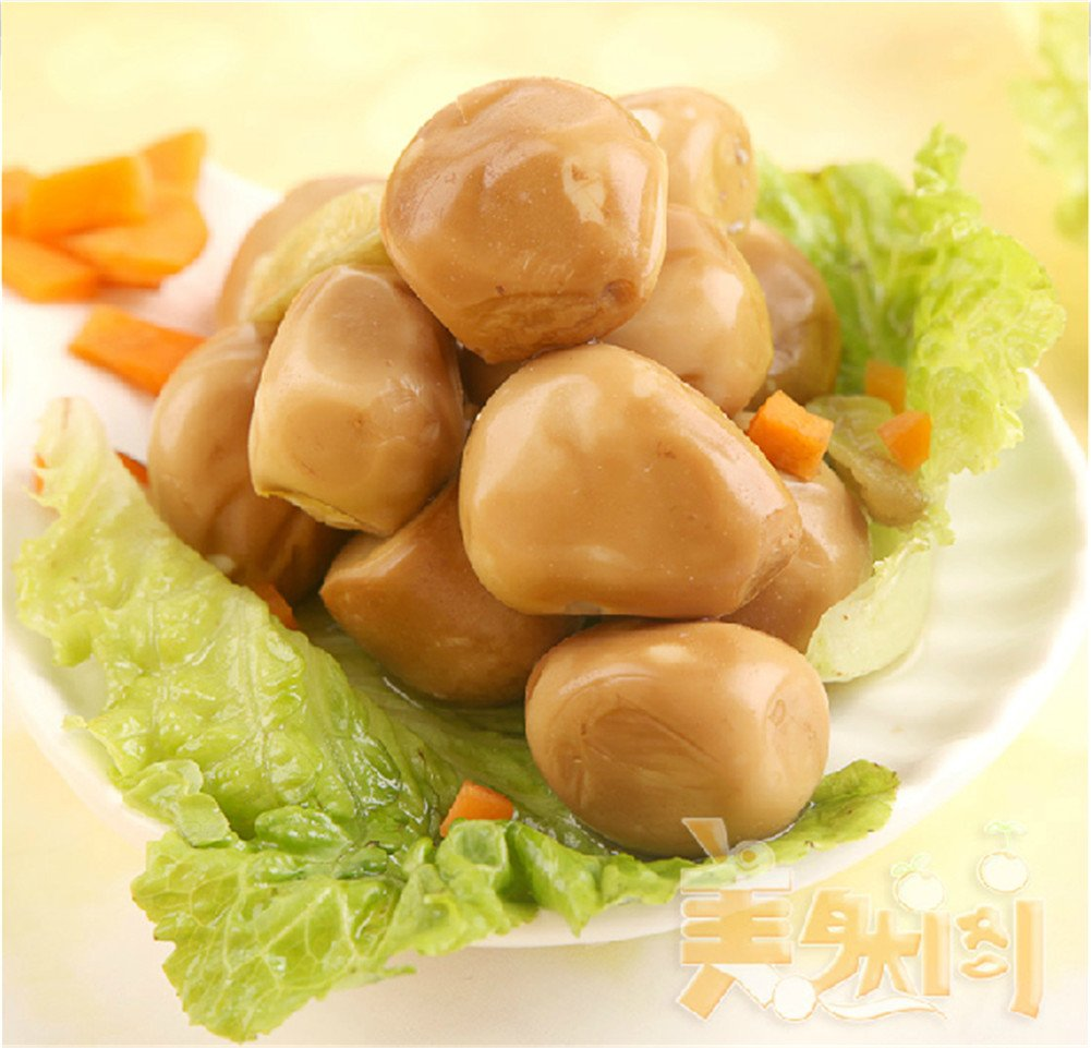 Qyz@ Chinese Leisure Characteristics Snacks Pickled Peppers Quail Eggs(35g,2pack)