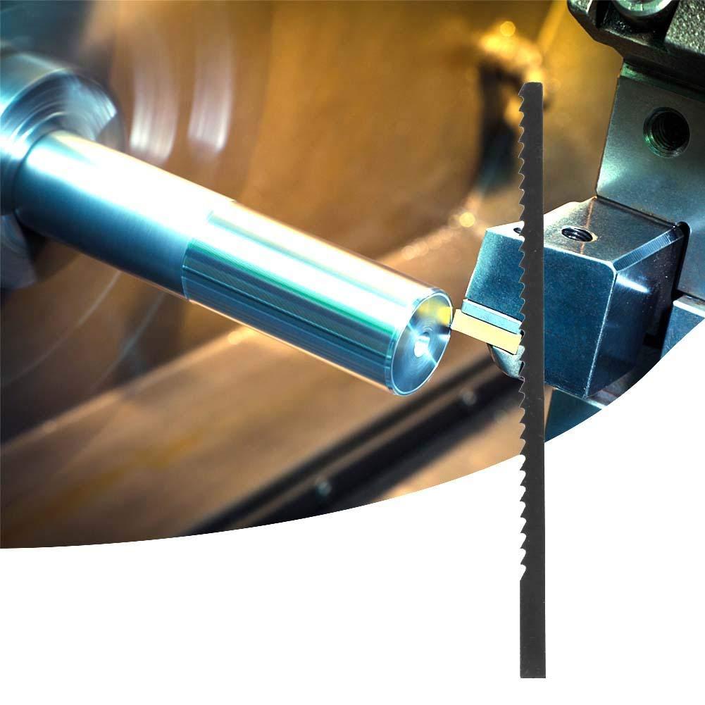 Jig S/ägebl/ätter Stichs/ägen Zubeh/ör Weichen Material Stichs/ägeblatt f/ür Metall D/ünne Stahlblech Aluminium Schneiden Stichs/ägebl/ätter