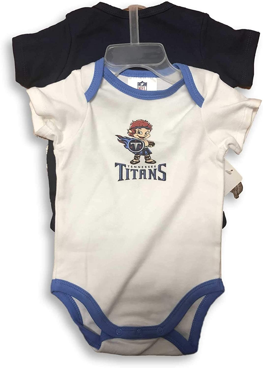 NFL Two Pack Infant Baby Creeper Bodysuits