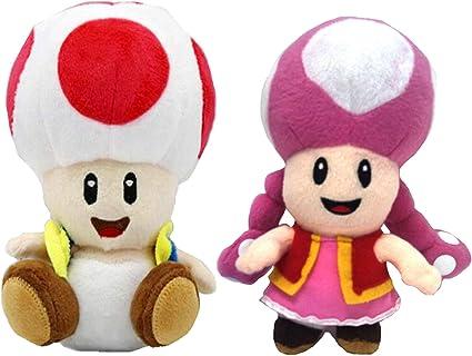 Amazon Com Meijiada Super Mario Bros Toad Toadette Brigade