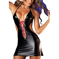 Lenceria Sexy Mujer Vestido de Club Nocturno Pasión