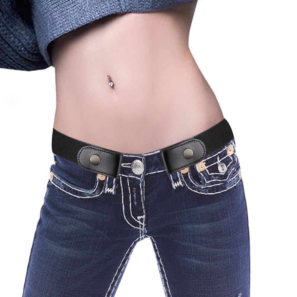 Ruimin 1PC Buckle-Free Elastic Invisible Belt Invisible Belts for Jeans for Mens Women by Ruimin (Image #9)