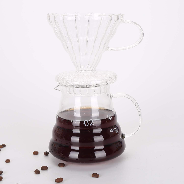 ghdonat.com Home & Kitchen Manual Grinders Drip Coffee Maker Set ...
