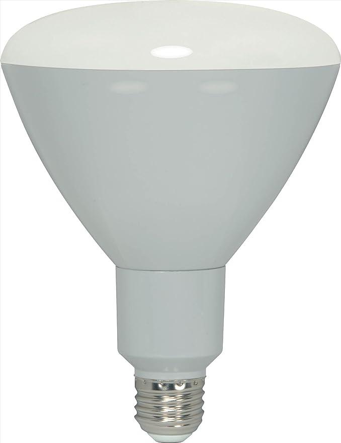 Satco S9136-10BR30//LED//5000K//120V 10-Watt BR30 Dimmable LED Lamp 6-Pack