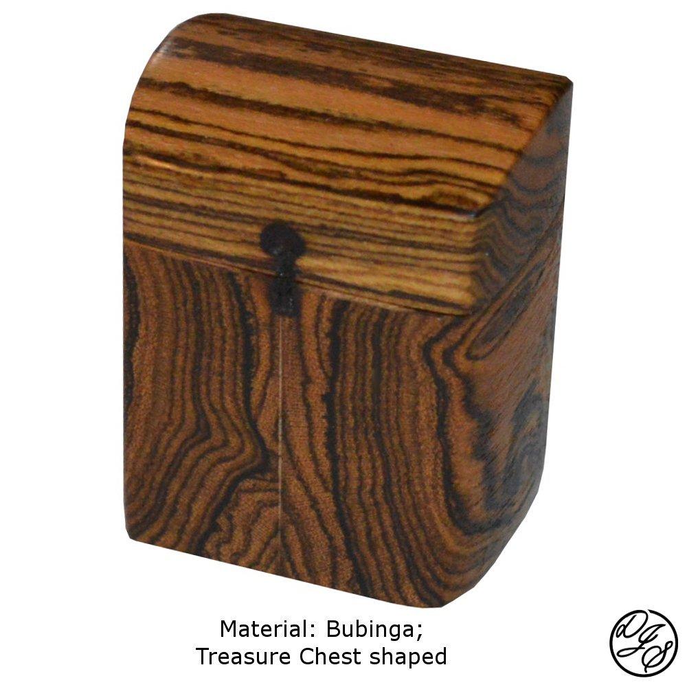 Ring Boxes made with Bubinga