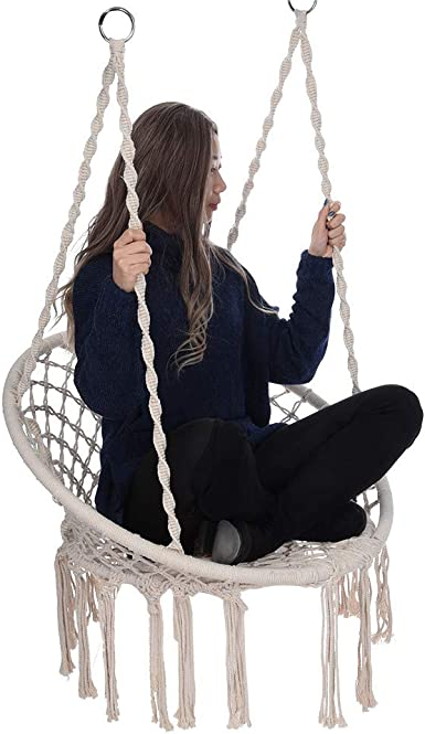 Amazon Com Hammock Chair Macrame Swing Delivery From Us