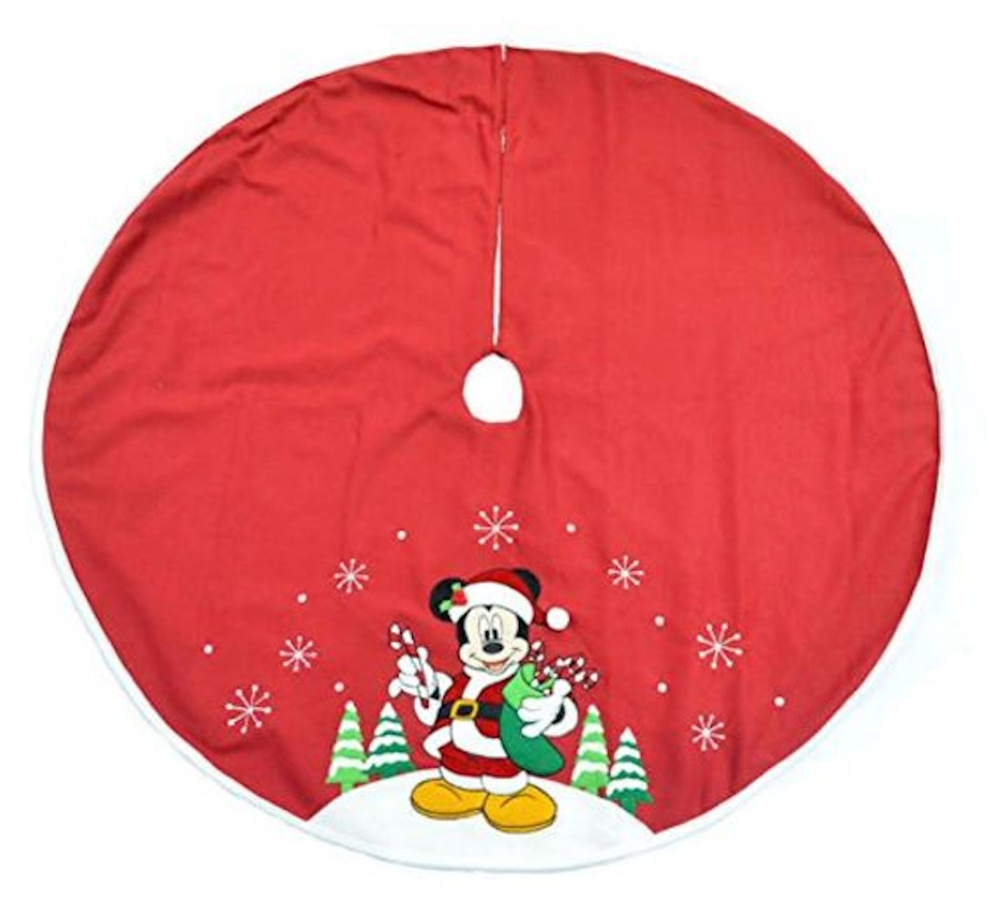 Amazon.com: Disney Mickey Mouse Christmas Tree Skirt (48 Inch ...