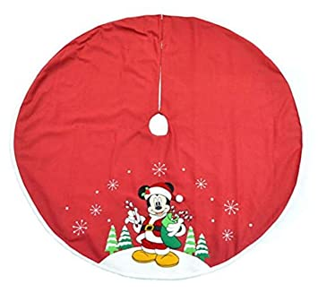 disney mickey mouse christmas tree skirt 48 inch