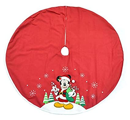 Disney Mickey Mouse Christmas Tree Skirt (48 Inch)