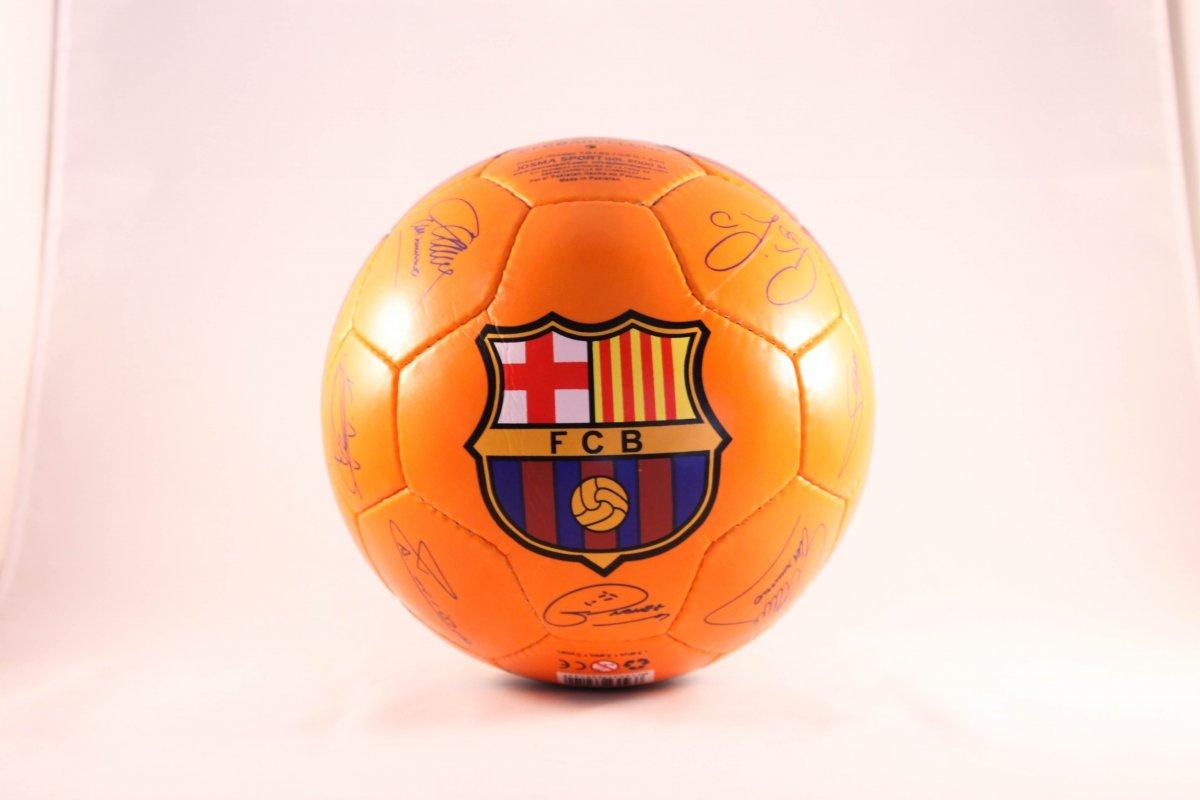 F.C. Barcelona Pelota Mediana Naranja: Amazon.es: Juguetes y juegos