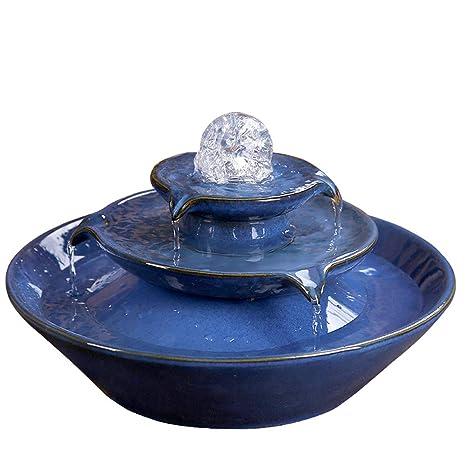 JIANGU - Acuario Europeo de Agua de Fuente, Acuario de decoración ...