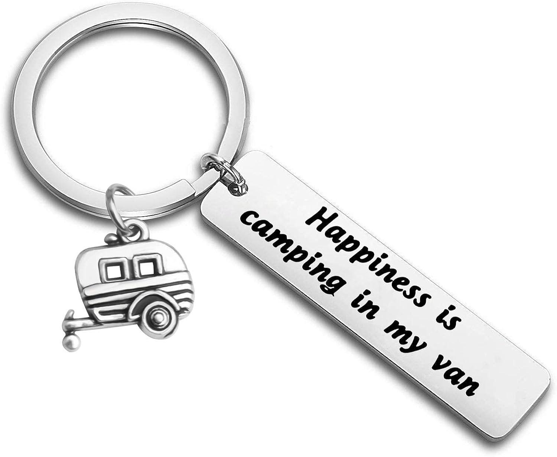 Happy Camper RV Keychain...