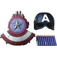 Tables Marvel'S Avengers, el Juguete de Bomba Suave con Escudo del Capitán América ha Preparado 10 Bombas Suaves…