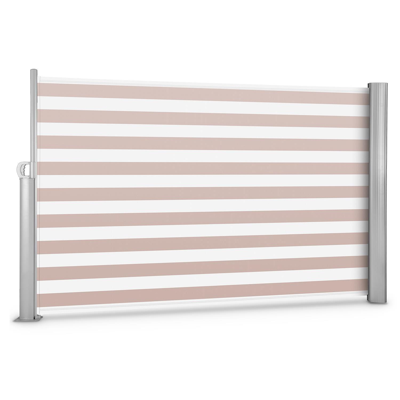 Blumfeldt Bari 318 • Seitenmarkise • Standmarkise • Seitenrollo • Sichtschutz • Sonnenschutz • Polyester 300 x 180 cm • ausziehbar • wasserabweisend • UV-beständig • selbstspannend • Rückhol