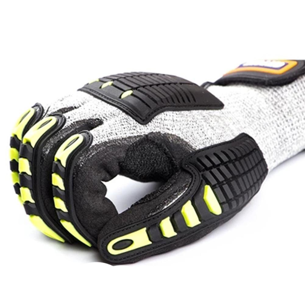 Anti - cross - country motorcycle gloves male racing knight anti - cutting all - finger gloves security protection by LIXIANG (Image #5)