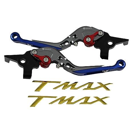Palancas de embrague de freno extensibles plegables para Yamaha TMAX 500 2008-2011 XP500 2012
