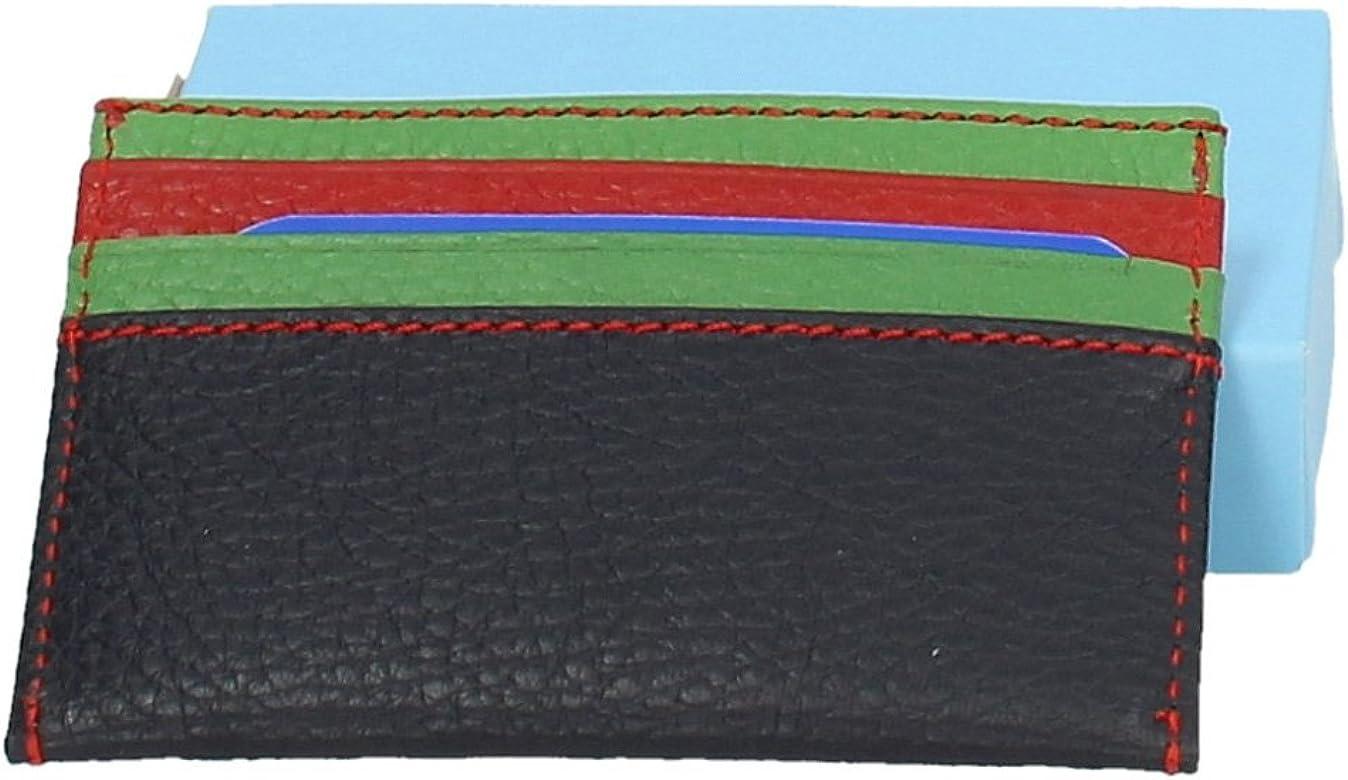 MADE IN SPAIN S675 TARJETERO DE PIEL HOMBRE BOLSOS-CARTERAS MARINO 1: Amazon.es: Zapatos y complementos