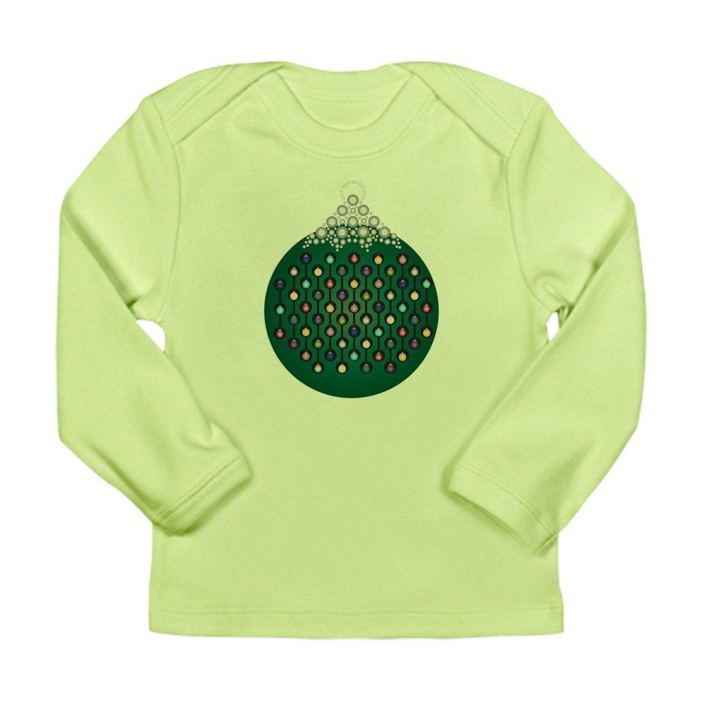 18-24 Kiwi Truly Teague Long Sleeve Infant T-Shirt Green Chain Ornament