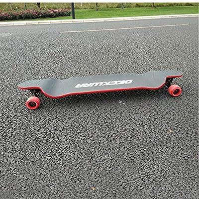 HENGTONGTONGXUN Longboard Complete Downhill Skateboard Teen Road Street Racing Board Adult Drop Down Speed Longboard 41 (Color : B): Sports & Outdoors