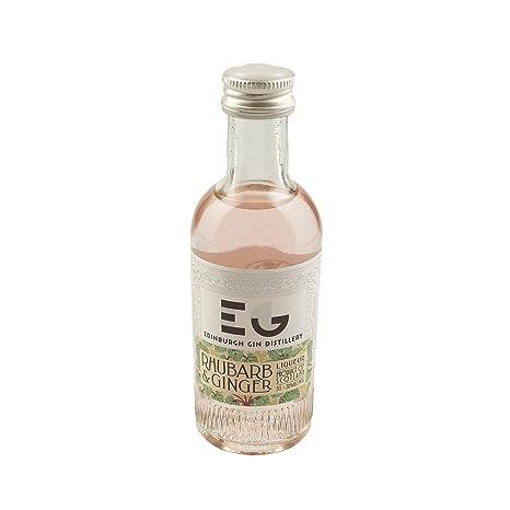 Edinburgh Gin Rhubarb & Ginger Liqueur 5cl Miniature by Edinburgh Gin