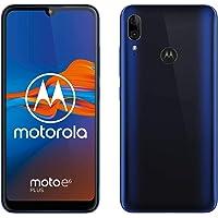 "Motorola moto E6 plus (pantalla 6,1"" max vision, doble cámara de 13 MP, 64GB/4 GB, Android 9.0, Dual SIM) Azul + Funda"