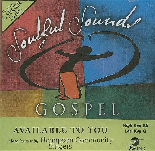 Available To You [Accompaniment/Performance - Tracks Gospel Accompaniment