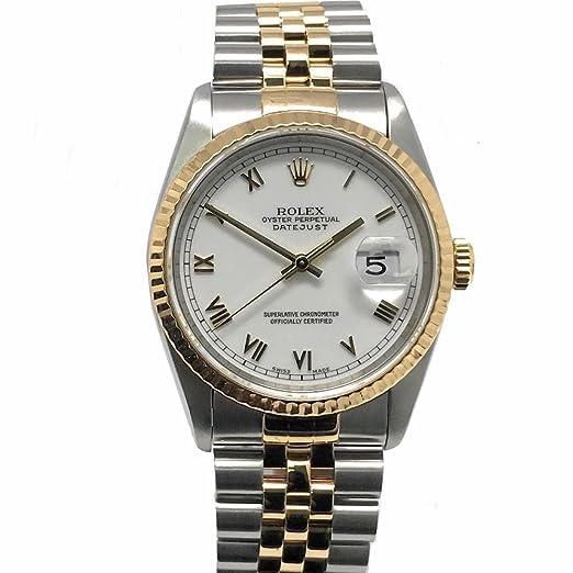 Rolex 16233 - Reloj de pulsera automático para hombre (certificado de suizo)