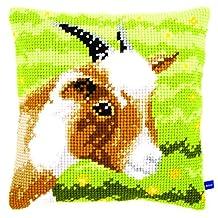 Cross Stitch Cushion: Goat