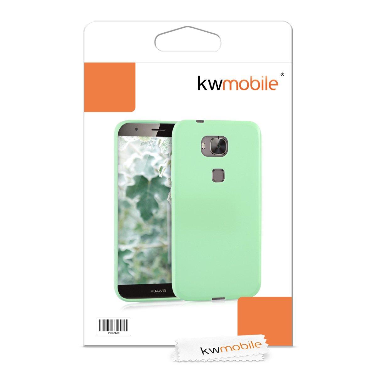 Amazon.com: kwmobile Funda TPU silicona chic para el Huawei ...