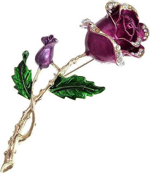Fashion Sewing Machine Crystal Brooch Black Pin Spring Women Costume Jewelry