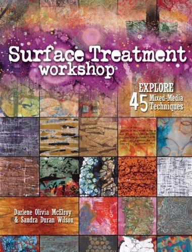 Workshop Gems (Surface Treatment Workshop: Explore 45 Mixed-Media Techniques)