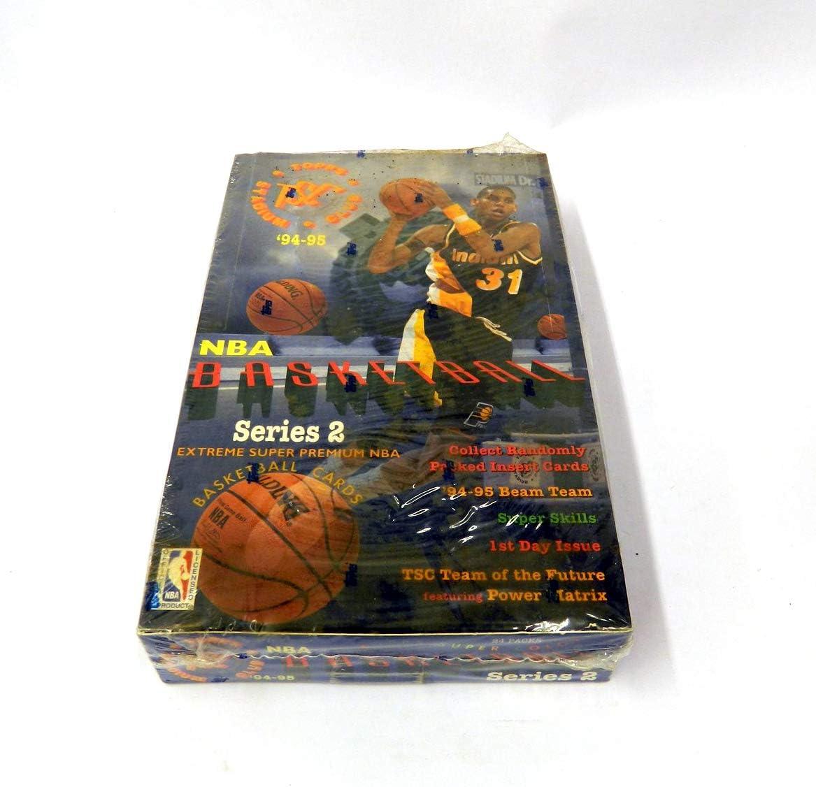 Upper Deck Collectors Choice series 2 baloncesto nba box 1994-95