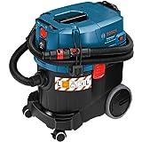 Bosch Professional Aspirador para seco/húmedo GAS 35 L SFC+ (manguera de 3m, SFC+ módulo de filtro, 1200W, depresión máx.: 254mbar, capacidad del depósito: 35l)