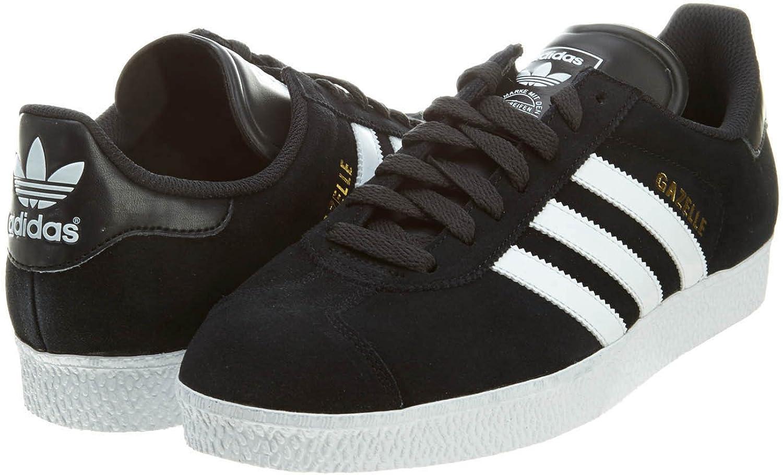 Adidas Gazelle II Black White Mens