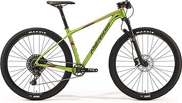 Bicicleta de montaña Merida Big.Nine NX-Edition, color verde y rojo ...