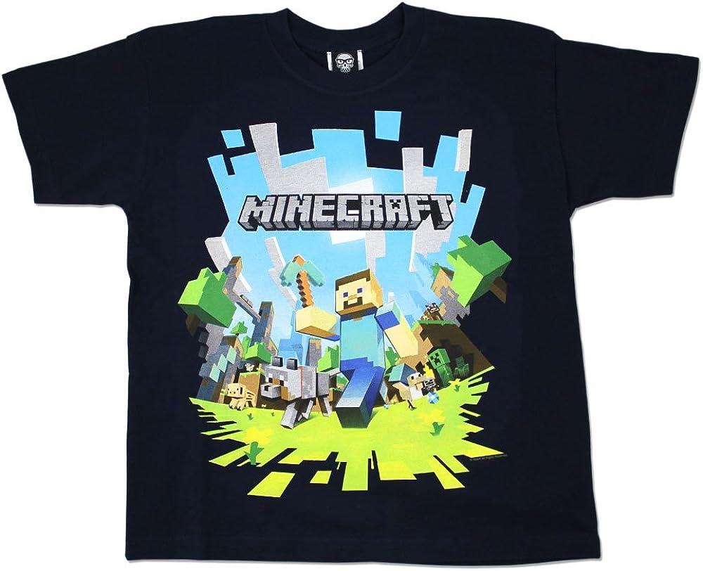 Boys Minecraft T-shirt  Mine Craft Tshirt  Age 10 to 10 Years