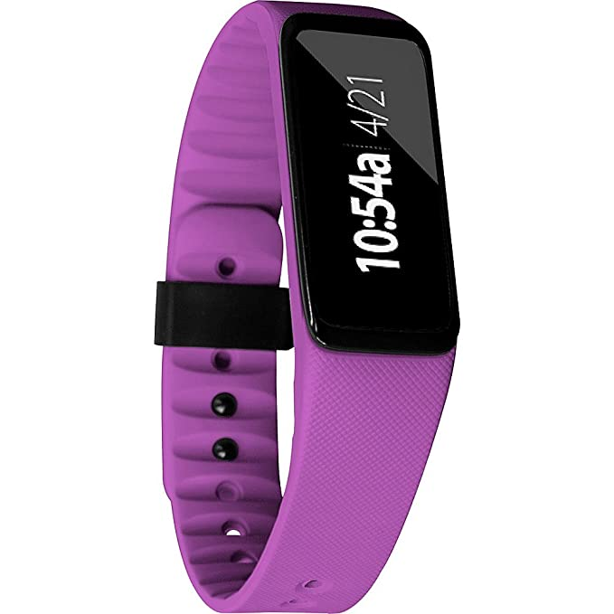 Amazon.com: 3Plus 70217 Swipe C Activity Tracker Bluetooth Smartwatch/Wristband with Call & Text Notification, Purple: Cell Phones & Accessories