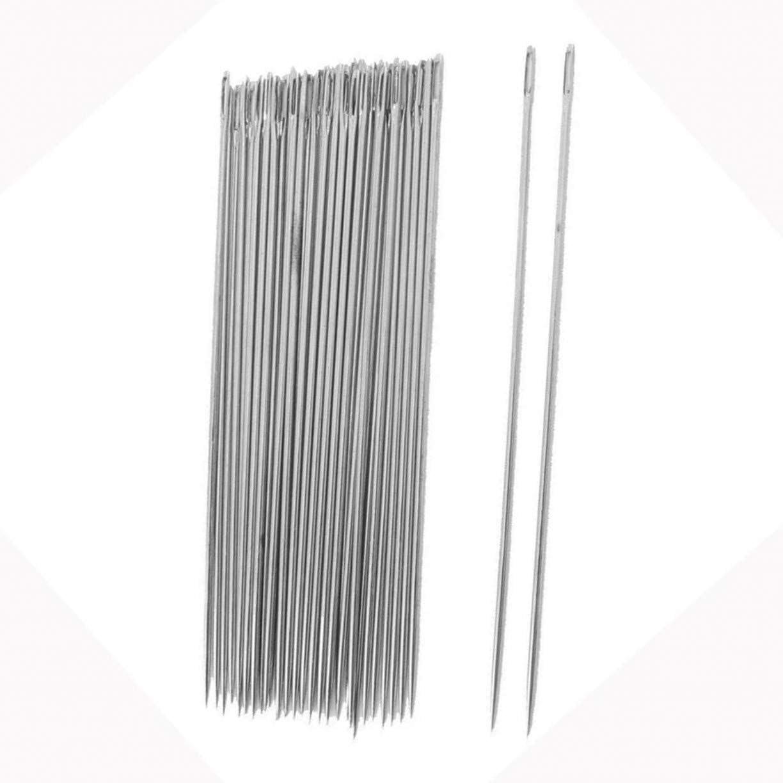 OurHommie - Agujas para tapicería de 15,2 cm de largo, gran aguja ...