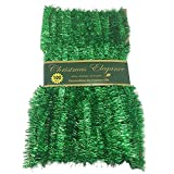 100ft Commercial Length Christmas Garland Decorations - Green (Small Image)