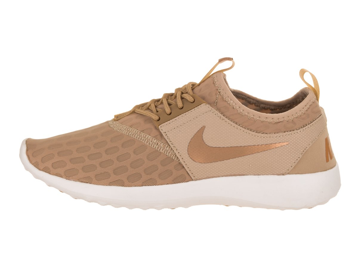 NIKE Women's Juvenate Running Shoe B074TKDF3Y 5.5 B(M) US|Mushroom/Metallic Stout/Elemental Gold