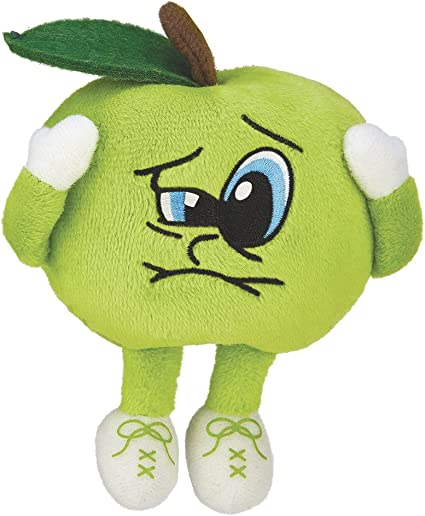Sour Saul Sour Apple Series 4 Scented Plush Toy Backpack Clip Whiffer Sniffers