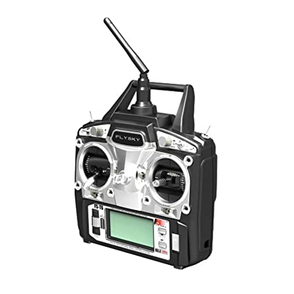 FlySky FS-T6 2 4Ghz 6 Channel Digital Transmitter and Receiver Radio System