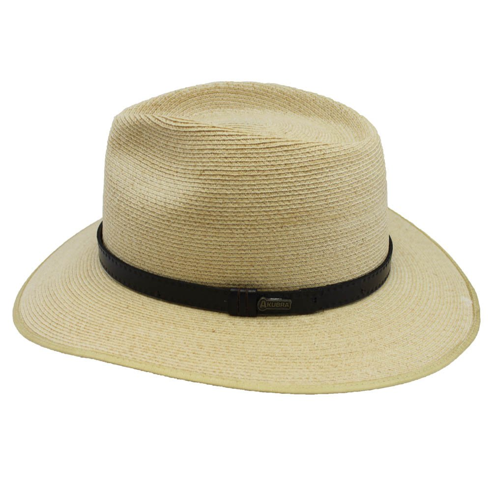 d0023b5573a Akubra Balmoral Hat - Natural - Brown -  Amazon.co.uk  Clothing