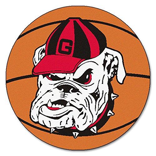 University of Georgia Bulldogs Basketball Area (Georgia Bulldogs Basketball Rug)