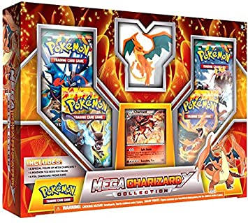 amazon mega charizard y collection box red pokemon tcg トレカ