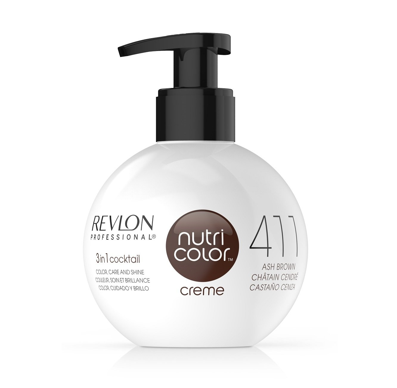 NUTRI COLOR CREME 411 CASTAÑO 250 ML Revlon 7220896411
