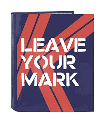 Kelme Mark - Carpeta folio, 4 anillas, 270 x 60 x 330 mm