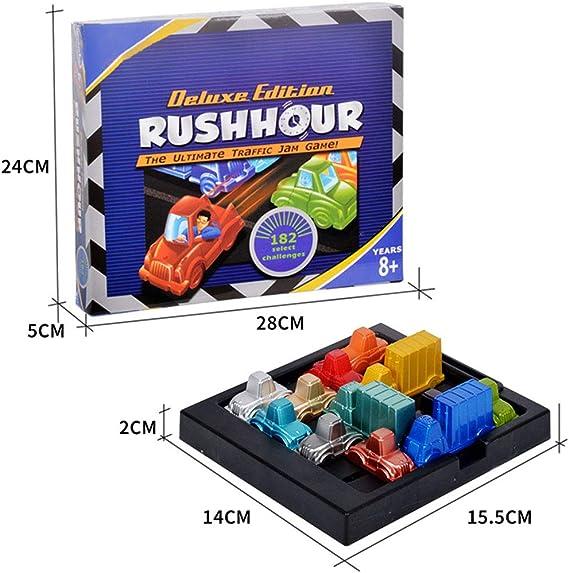 Faironly Kids Rush-Hour Traffic Jam Logic Game IQ rompecabezas de estacionamiento para coche: Amazon.es: Hogar