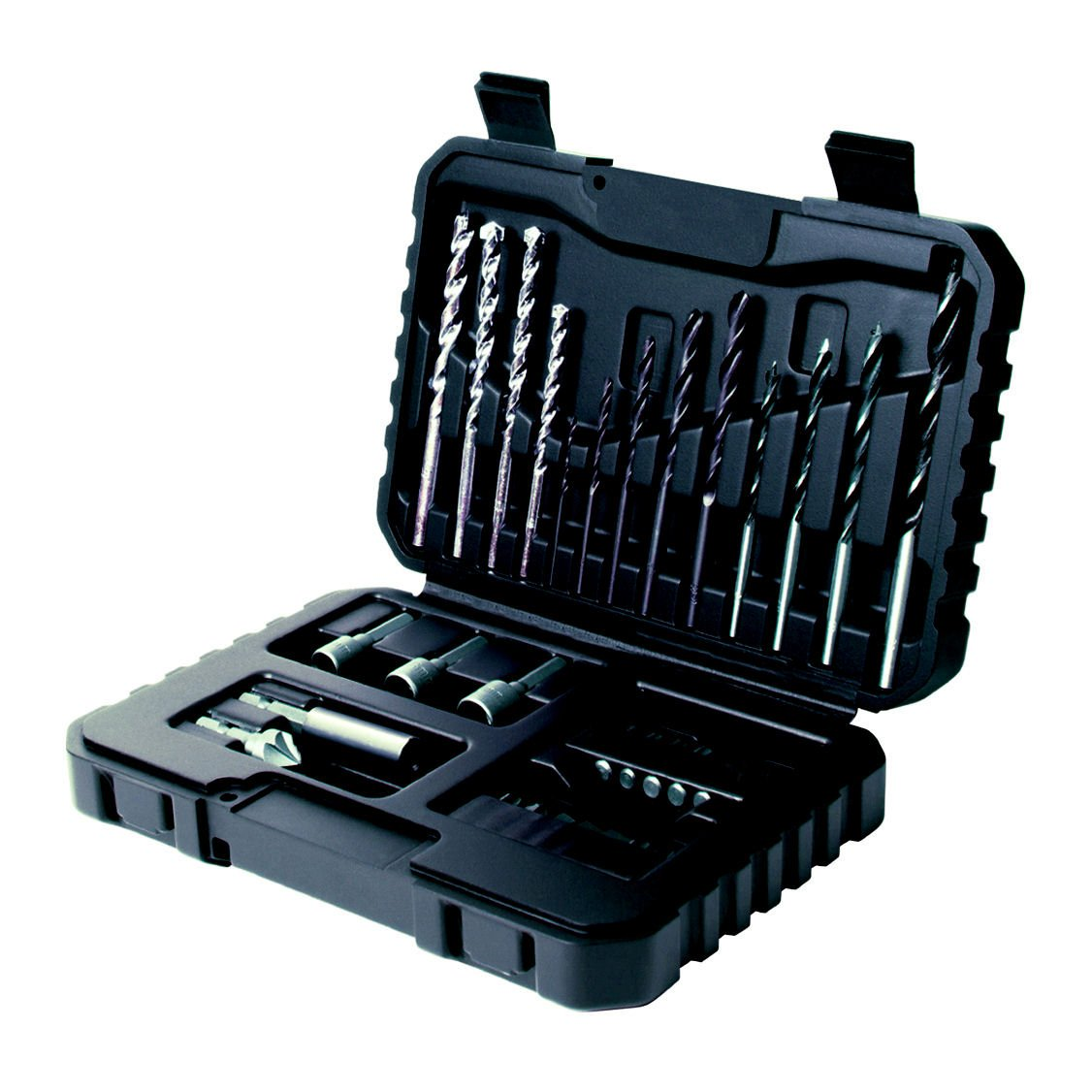 Black+Decker A7216-XJ Kit de 32 Piezas para taladrar y atornillar StanleyBlack&Decker